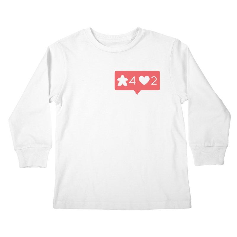 Likes! Kids Longsleeve T-Shirt by Semi Co-op