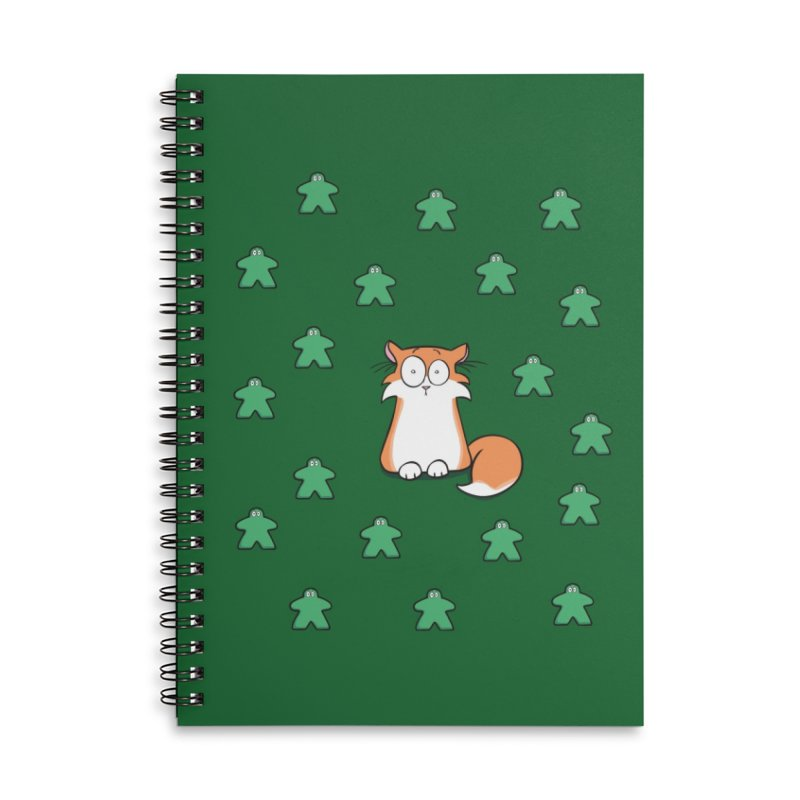 Apollo and the Meeples Accessories Lined Spiral Notebook by Semi Co-op