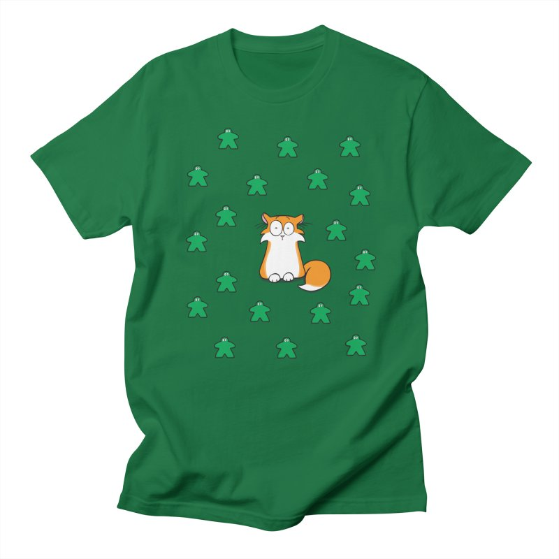 Apollo and the Meeples in Men's Regular T-Shirt Kelly Green by Semi Co-op
