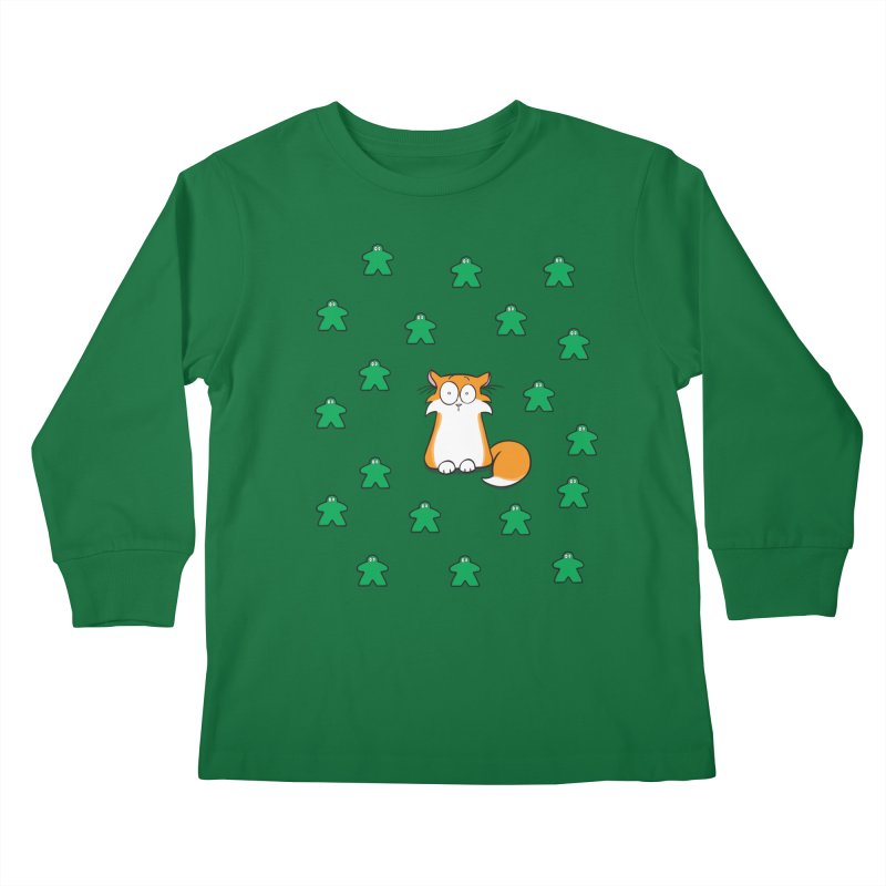Apollo and the Meeples Kids Longsleeve T-Shirt by Semi Co-op