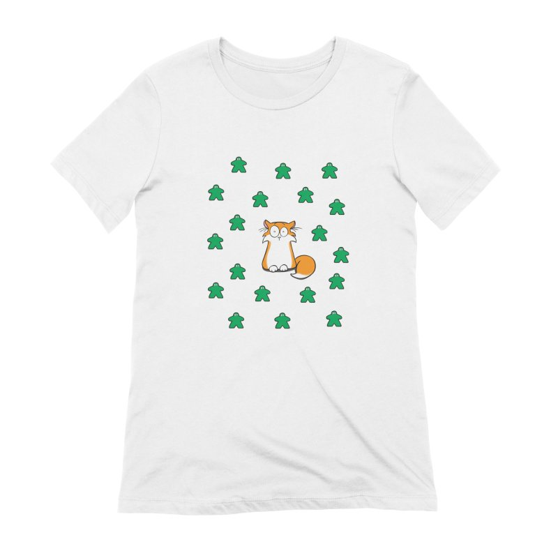 Apollo and the Meeples Women's Extra Soft T-Shirt by Semi Co-op