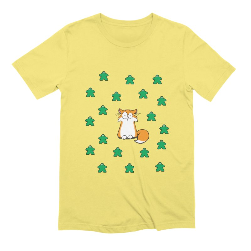 Apollo and the Meeples Men's Extra Soft T-Shirt by Semi Co-op