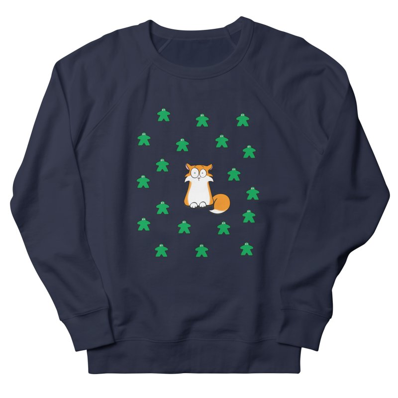 Apollo and the Meeples Women's French Terry Sweatshirt by Semi Co-op