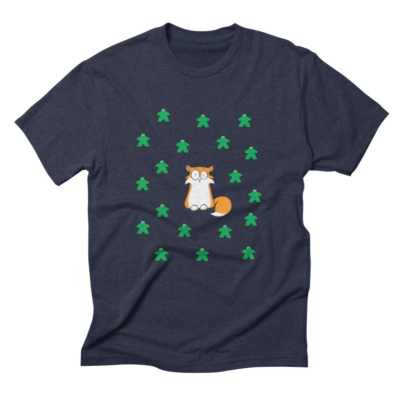 Apollo and the Meeples Men's Triblend T-Shirt by Semi Co-op