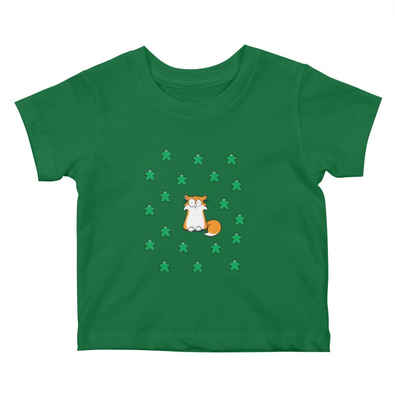 Apollo and the Meeples Kids Baby T-Shirt by Semi Co-op