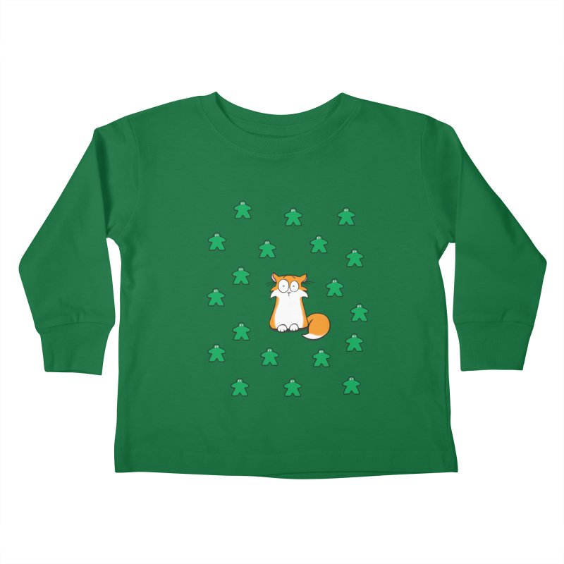 Apollo and the Meeples Kids Toddler Longsleeve T-Shirt by Semi Co-op