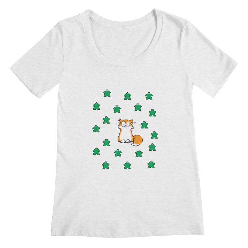 Apollo and the Meeples Women's Regular Scoop Neck by Semi Co-op