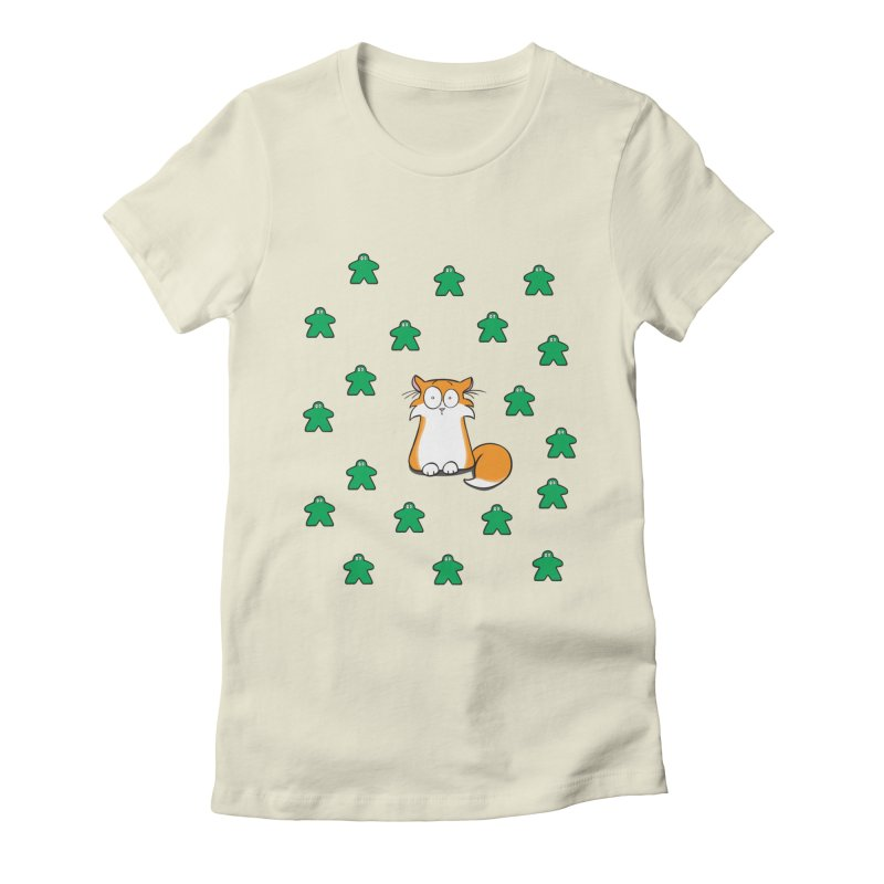 Apollo and the Meeples Women's Fitted T-Shirt by Semi Co-op