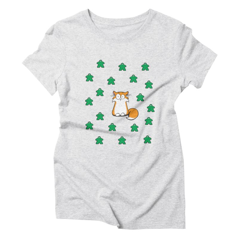 Apollo and the Meeples Women's Triblend T-Shirt by Semi Co-op