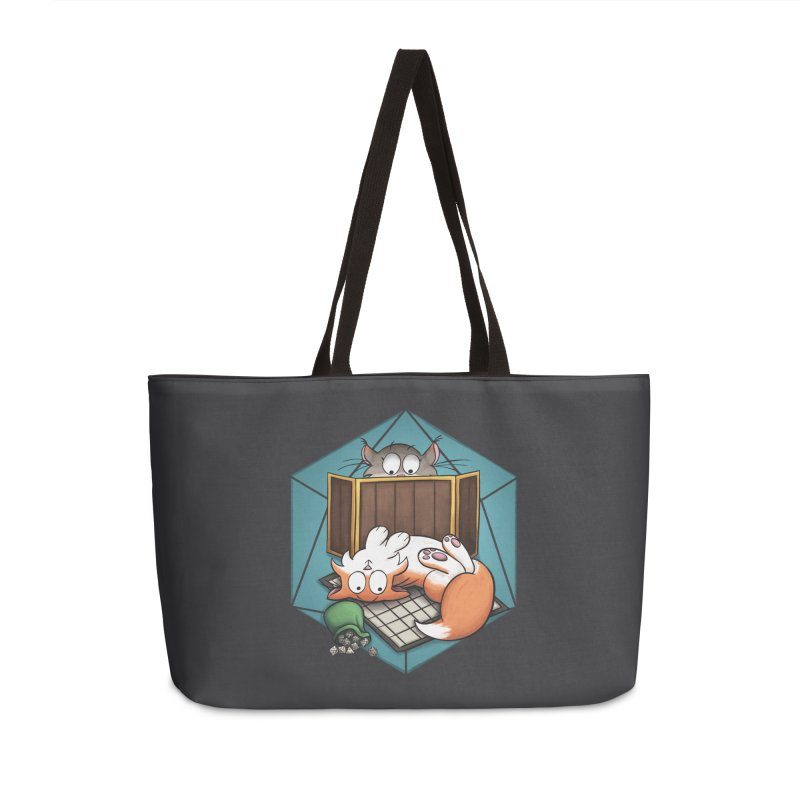 Cats & Catacombs Accessories Bag by Semi Co-op