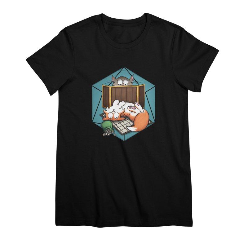 Cats & Catacombs Women's Premium T-Shirt by Semi Co-op