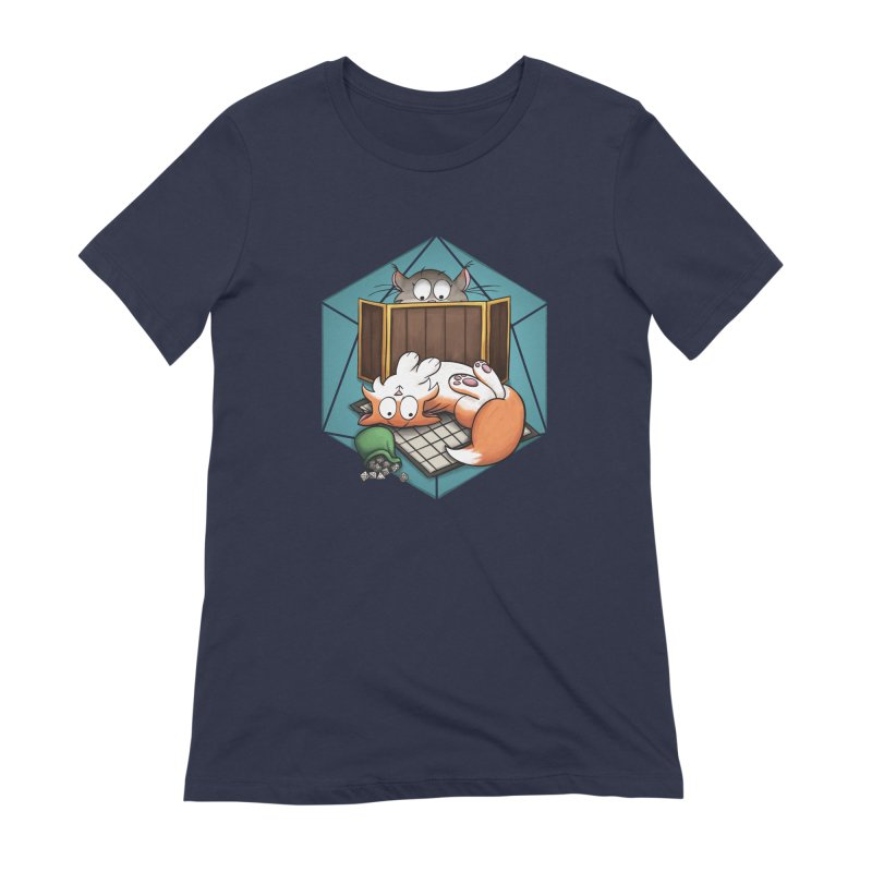 Cats & Catacombs Women's Extra Soft T-Shirt by Semi Co-op