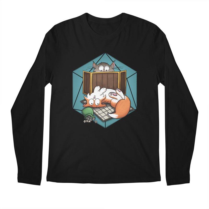 Cats & Catacombs Men's Regular Longsleeve T-Shirt by Semi Co-op