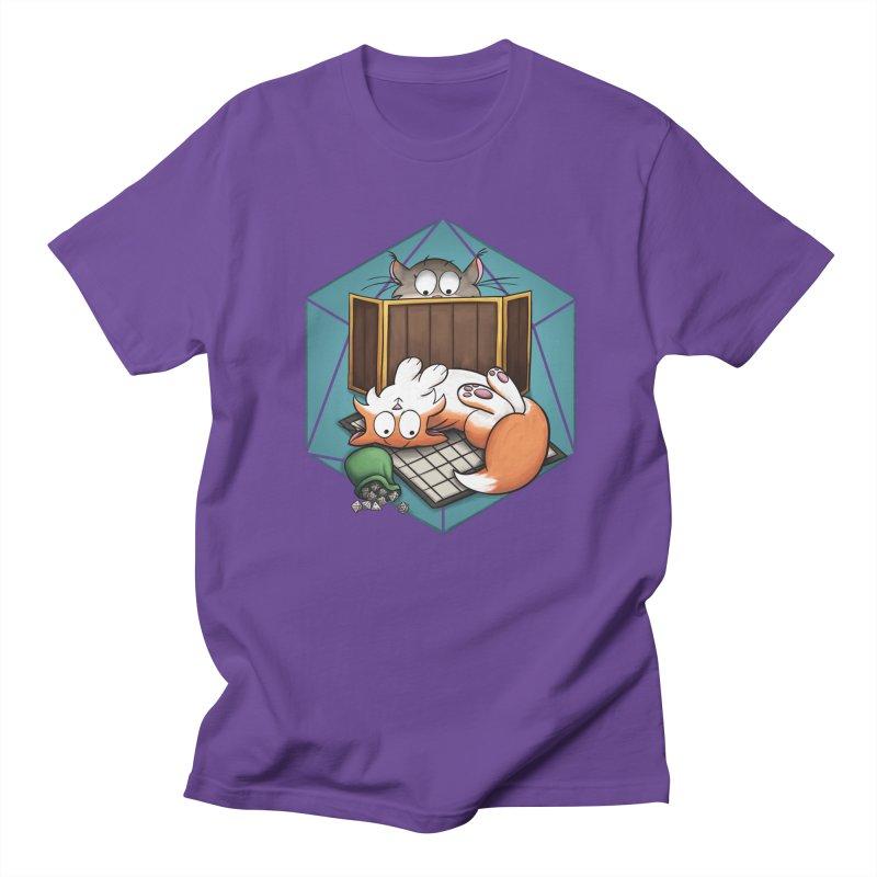 Cats & Catacombs Women's Regular Unisex T-Shirt by Semi Co-op