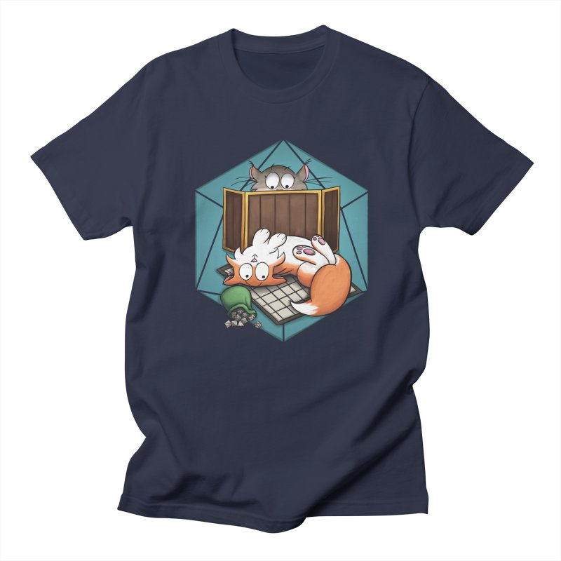 Cats & Catacombs Men's Regular T-Shirt by Semi Co-op