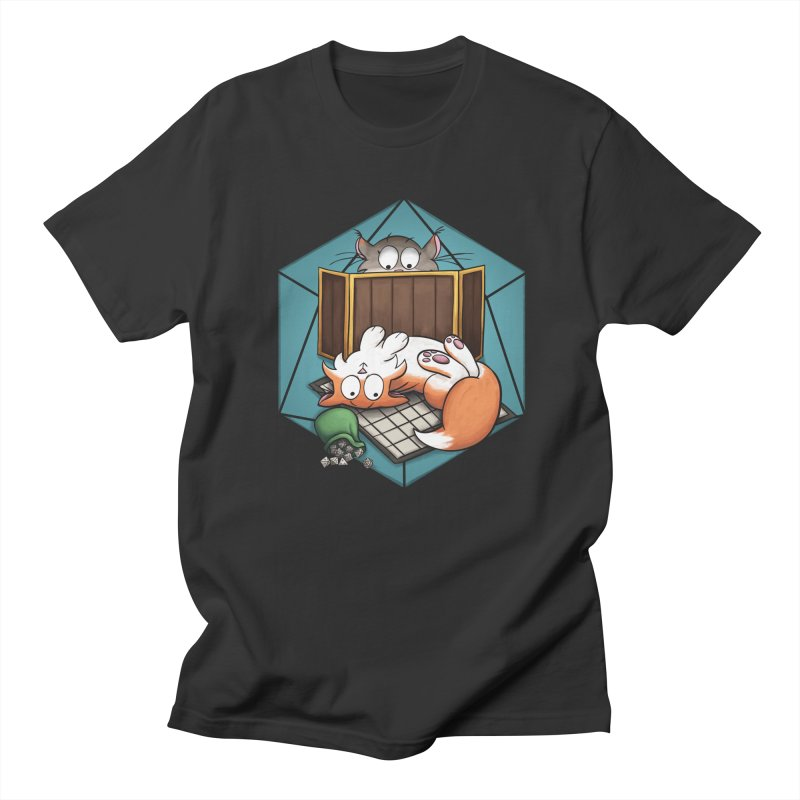 Cats & Catacombs Men's T-Shirt by Semi Co-op
