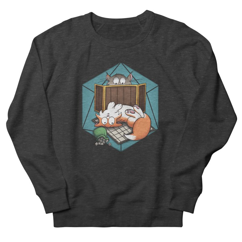 Cats & Catacombs Women's French Terry Sweatshirt by Semi Co-op