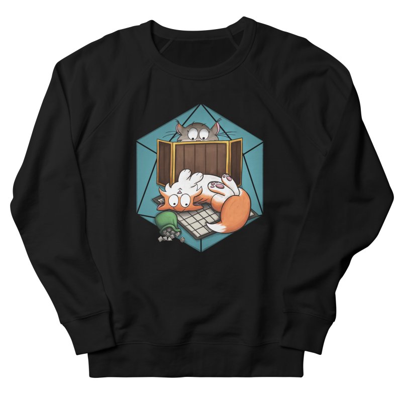 Cats & Catacombs Women's Sweatshirt by Semi Co-op