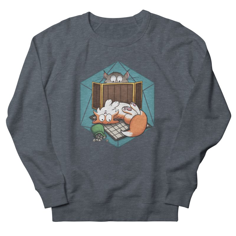 Cats & Catacombs Men's French Terry Sweatshirt by Semi Co-op