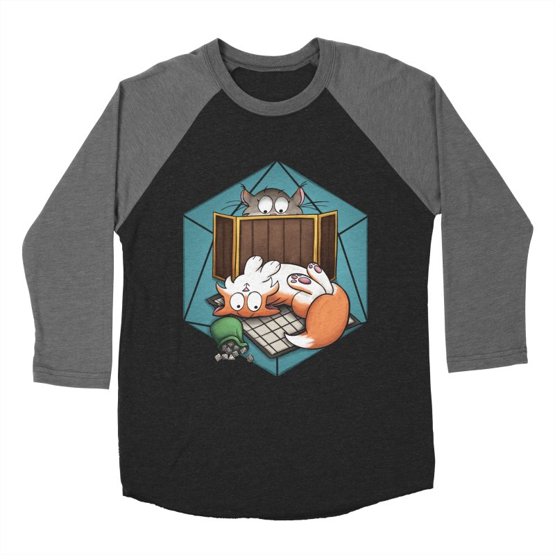 Cats & Catacombs Men's Baseball Triblend Longsleeve T-Shirt by Semi Co-op
