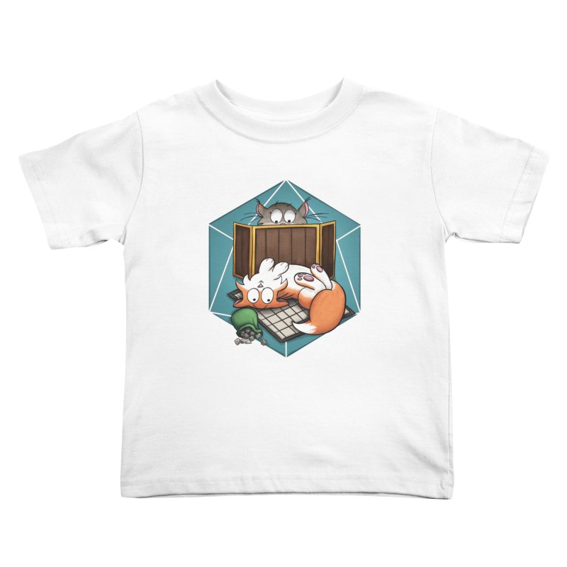 Cats & Catacombs Kids Toddler T-Shirt by Semi Co-op