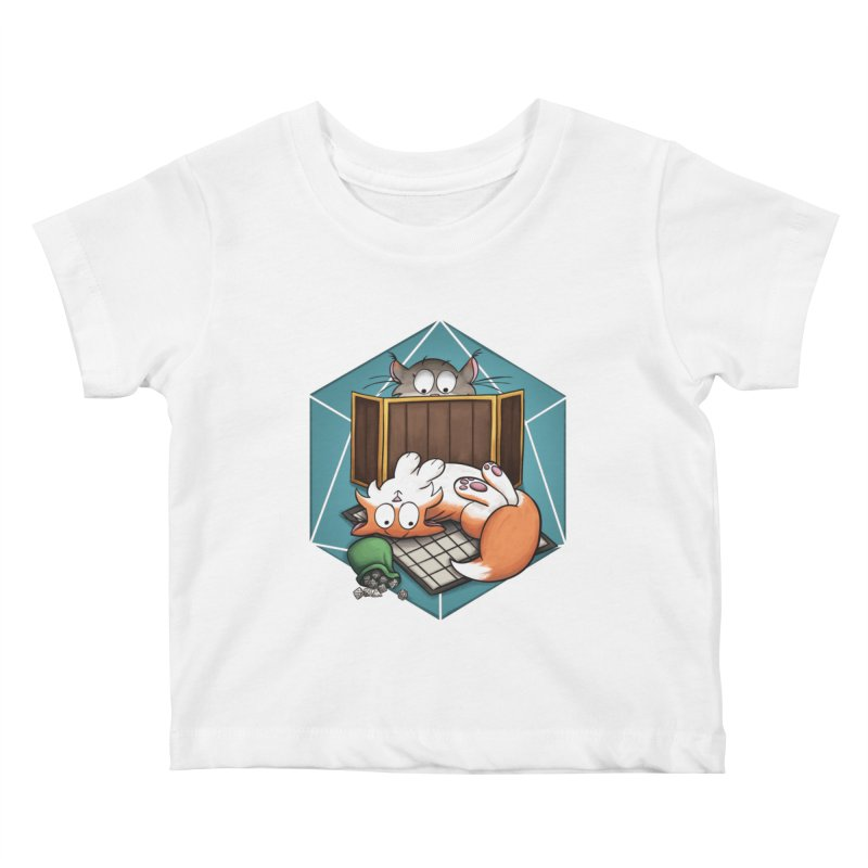 Cats & Catacombs Kids Baby T-Shirt by Semi Co-op