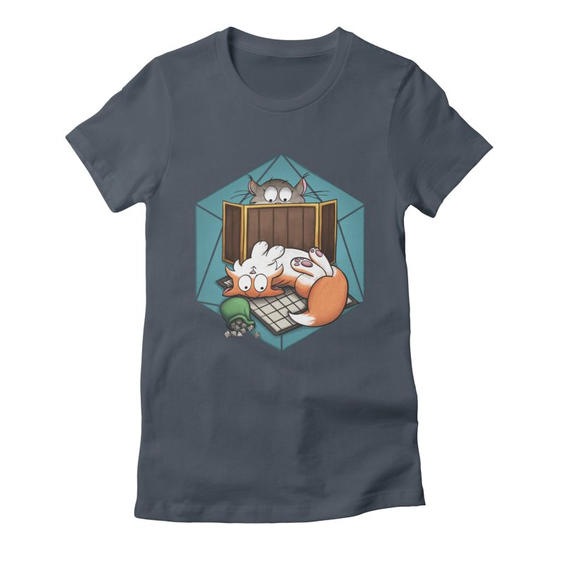 Cats & Catacombs Women's T-Shirt by Semi Co-op