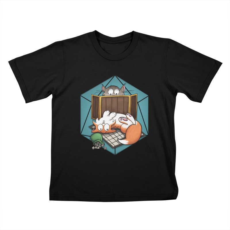 Cats & Catacombs Kids T-Shirt by Semi Co-op