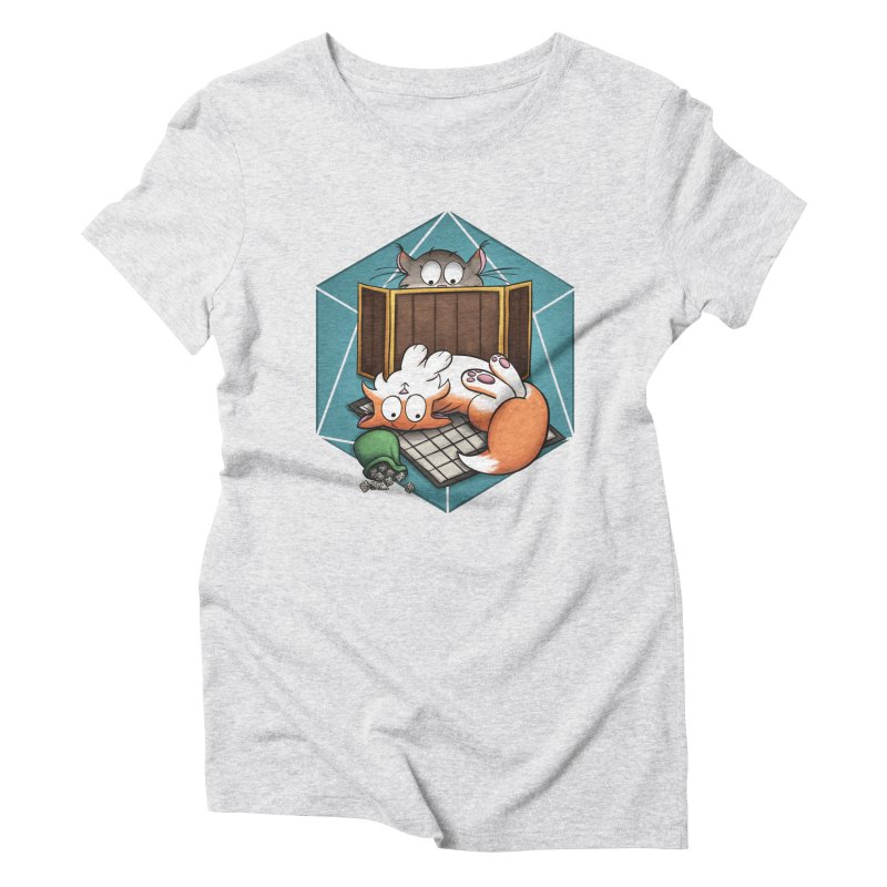 Cats & Catacombs Women's Triblend T-Shirt by Semi Co-op