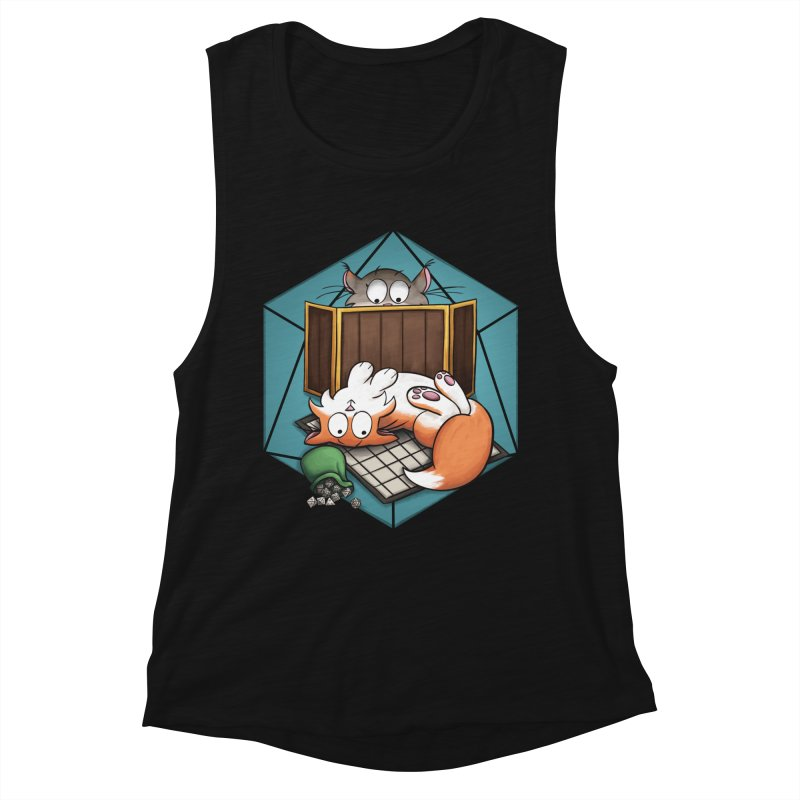 Cats & Catacombs Women's Muscle Tank by Semi Co-op