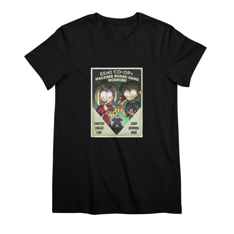 Board Game Horrors! Women's T-Shirt by Semi Co-op