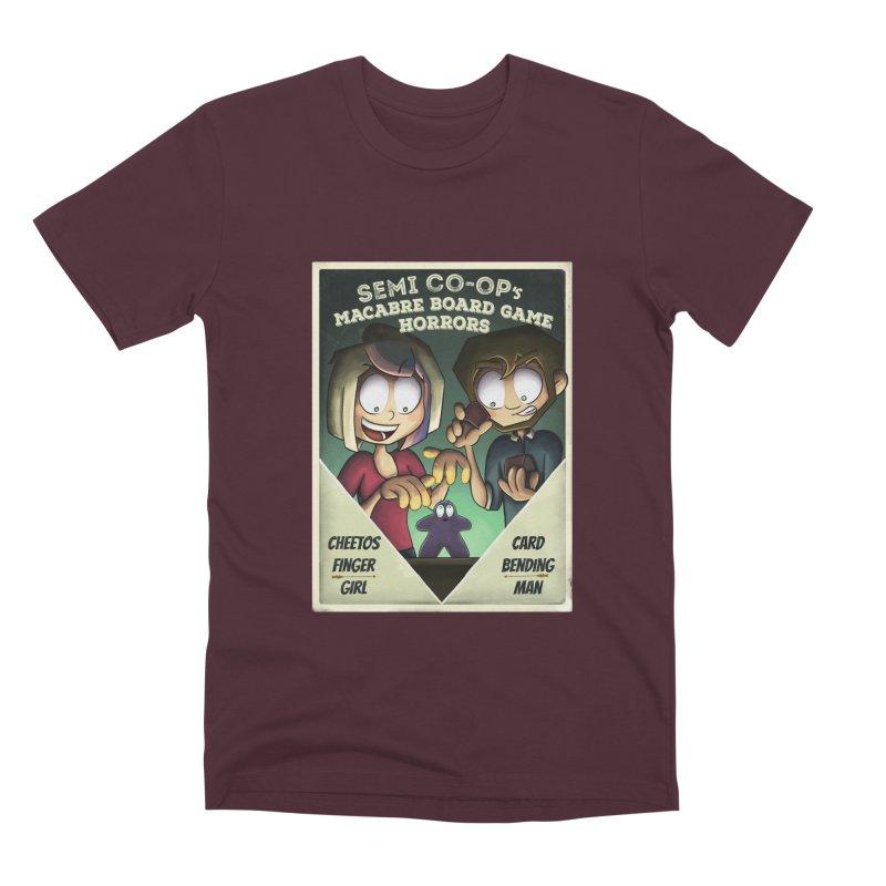 Board Game Horrors! Men's T-Shirt by Semi Co-op