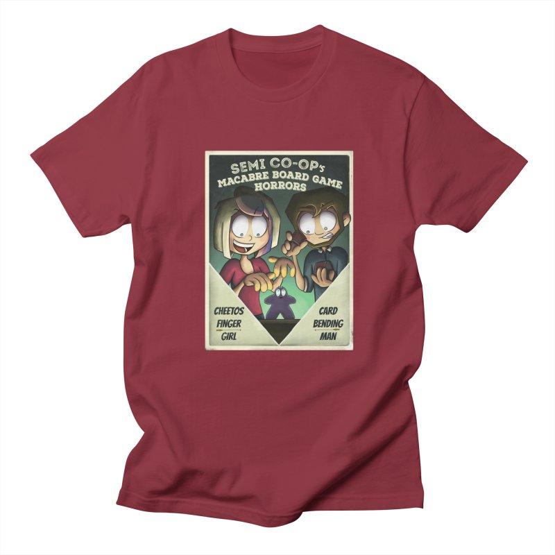 Board Game Horrors! Women's Regular Unisex T-Shirt by Semi Co-op