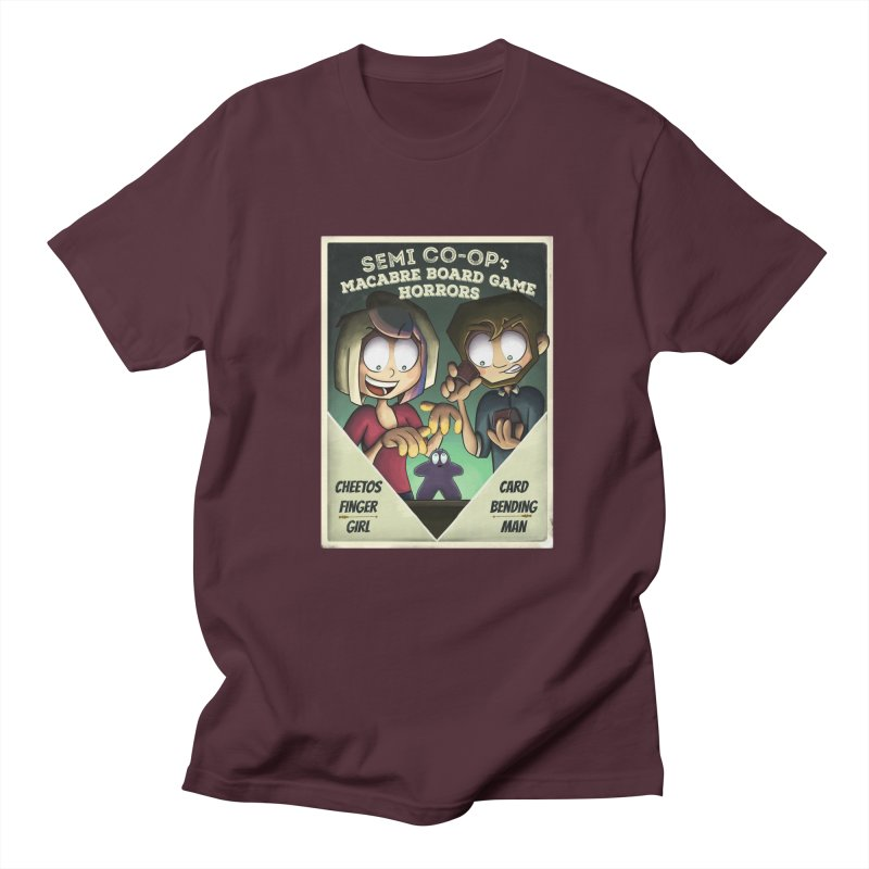 Board Game Horrors! Men's T-Shirt by Semi Co-op