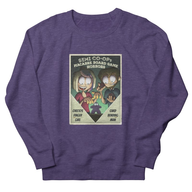 Board Game Horrors! Women's French Terry Sweatshirt by Semi Co-op