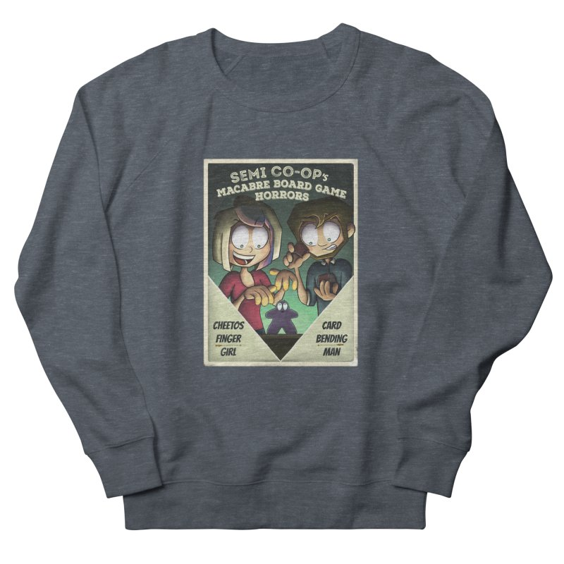 Board Game Horrors! Men's French Terry Sweatshirt by Semi Co-op