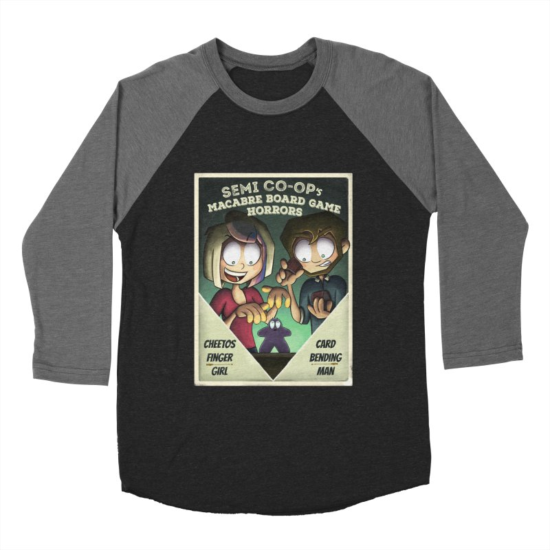 Board Game Horrors! Women's Baseball Triblend Longsleeve T-Shirt by Semi Co-op