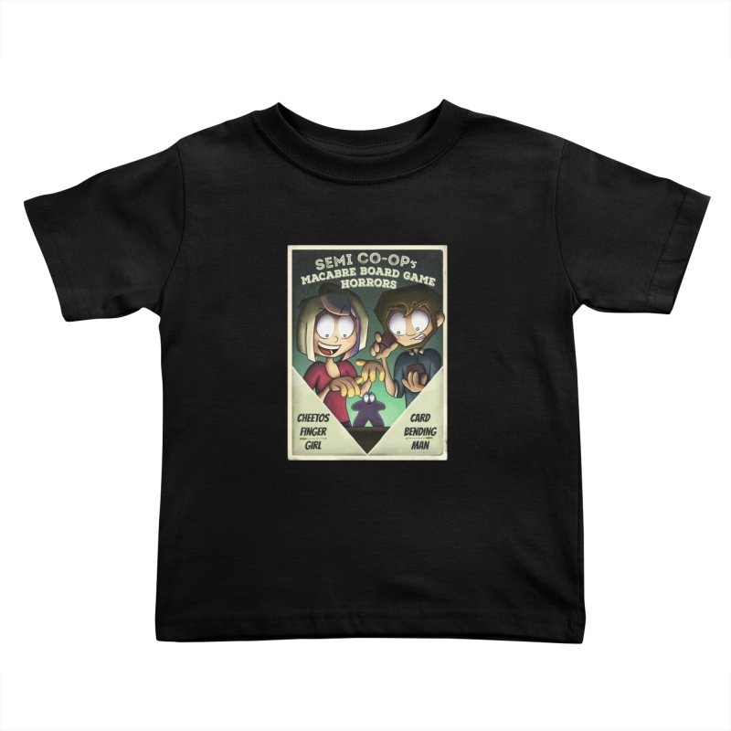 Board Game Horrors! Kids Toddler T-Shirt by Semi Co-op