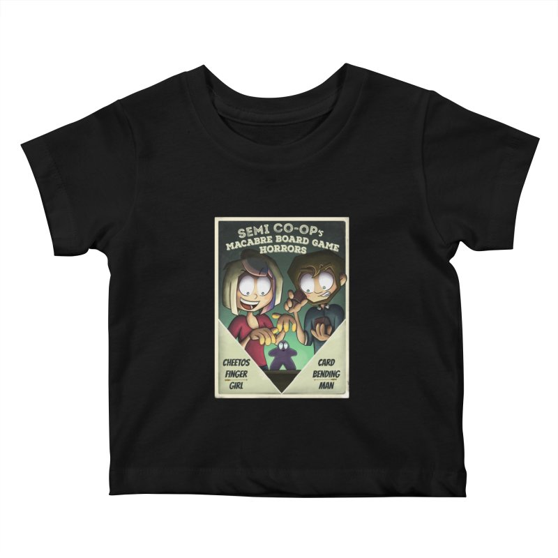 Board Game Horrors! Kids Baby T-Shirt by Semi Co-op
