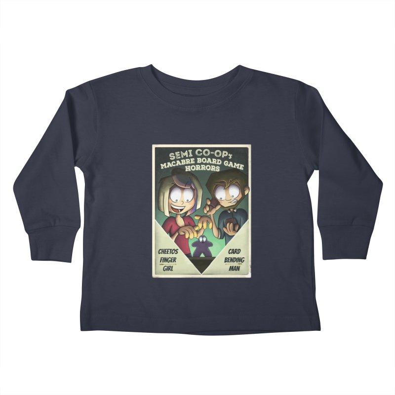 Board Game Horrors! Kids Toddler Longsleeve T-Shirt by Semi Co-op