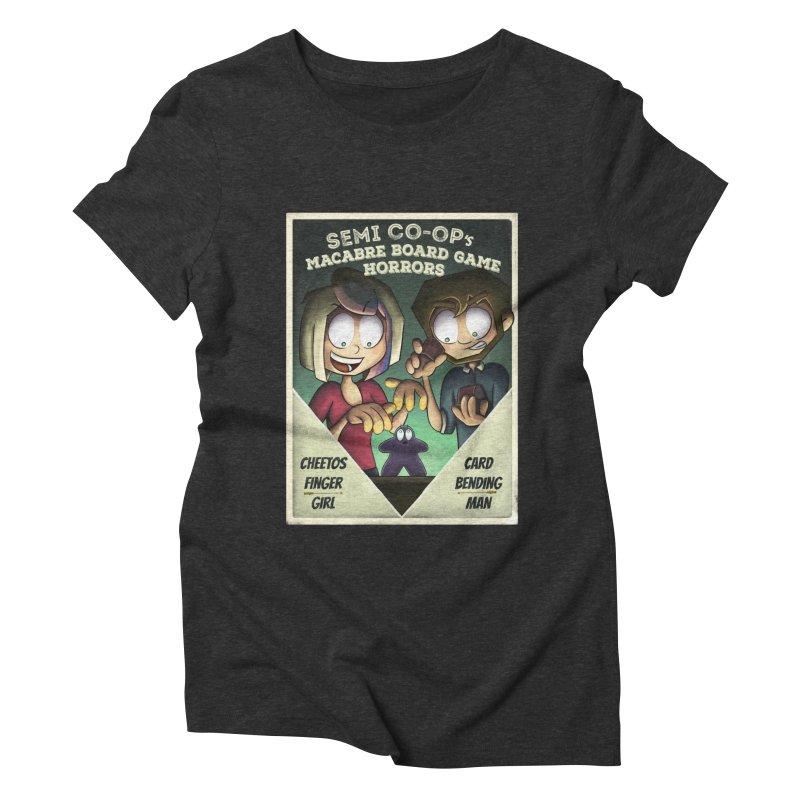 Board Game Horrors! Women's Triblend T-Shirt by Semi Co-op