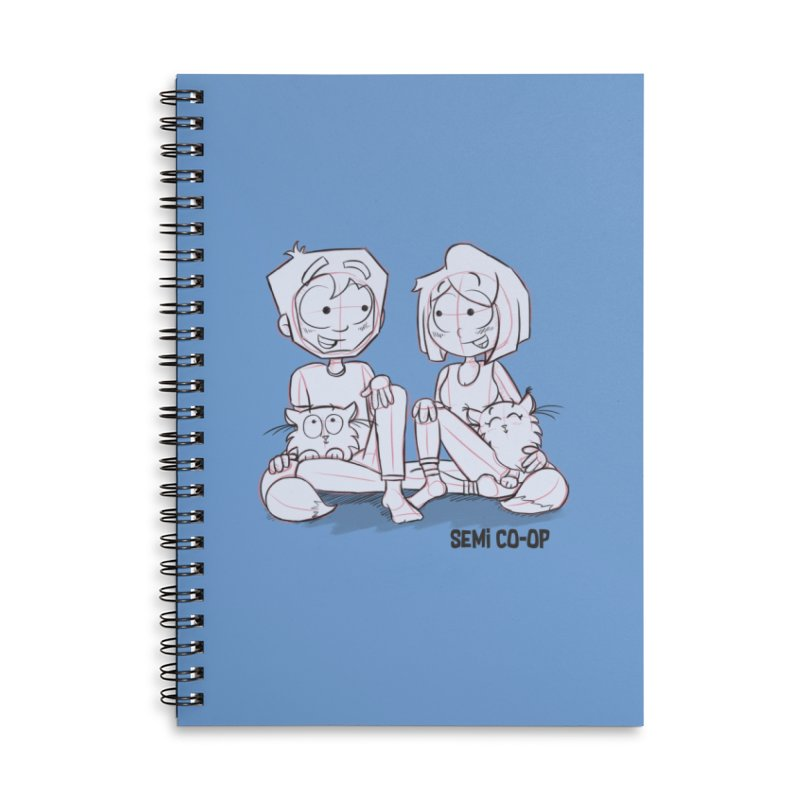 Sketchy Accessories Notebook by Semi Co-op