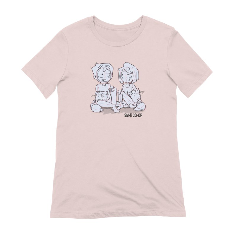 Sketchy Women's Extra Soft T-Shirt by Semi Co-op