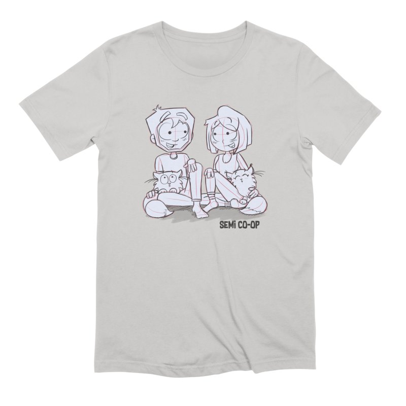 Sketchy Men's Extra Soft T-Shirt by Semi Co-op