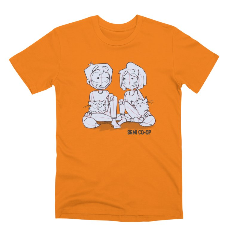 Sketchy Men's T-Shirt by Semi Co-op