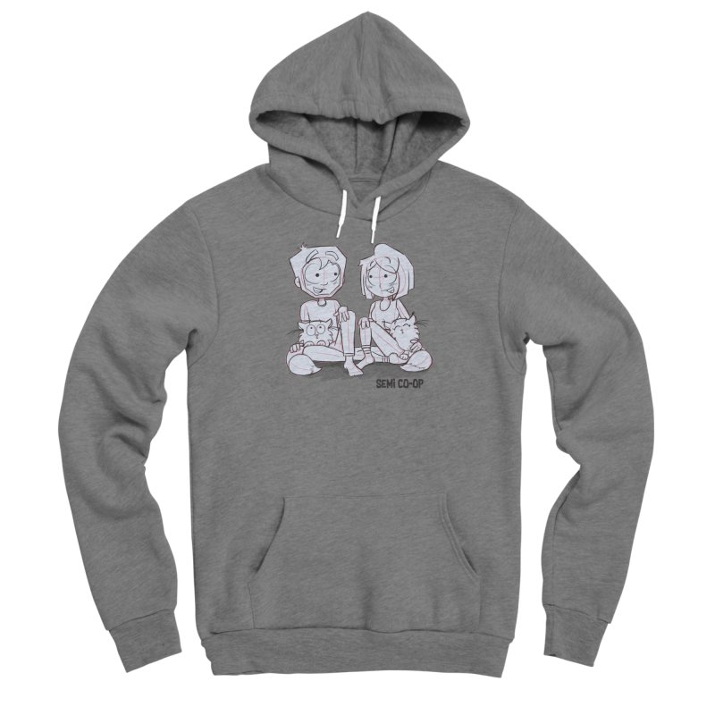 Sketchy Men's Pullover Hoody by Semi Co-op