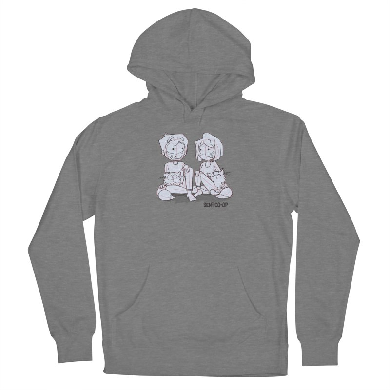 Sketchy Women's Pullover Hoody by Semi Co-op