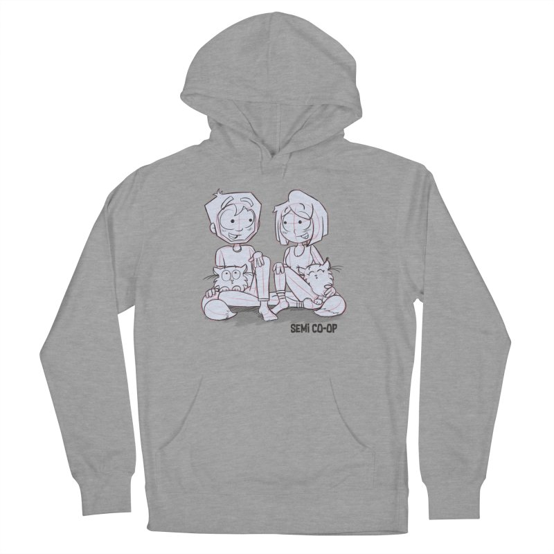 Sketchy Men's French Terry Pullover Hoody by Semi Co-op