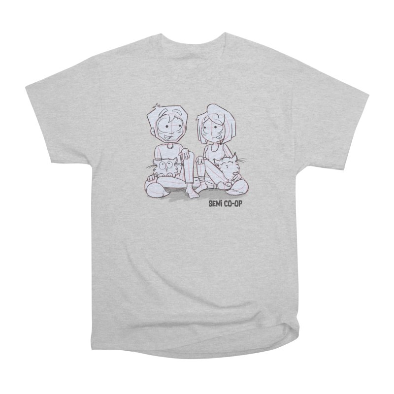 Sketchy Women's Heavyweight Unisex T-Shirt by Semi Co-op