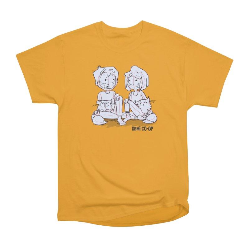 Sketchy Men's Heavyweight T-Shirt by Semi Co-op
